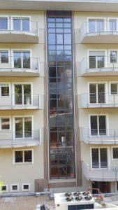 Infissi esterni in alluminio a taglio termico, facciata in alluminio strutturale a taglio termico